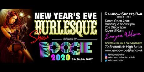 Rainbow Sports Bar Presents: New Years' Eve Burlesque Show & Boogie 2020! tickets