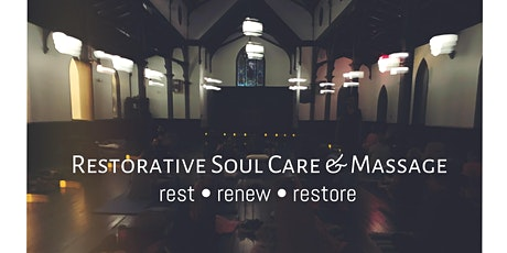 Candlelight Restorative Soul Care Yoga with Hands on Massage tickets