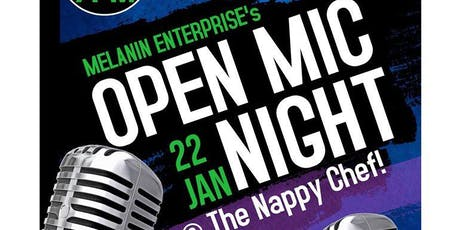 The Soul of Charlotte Open Mic Night @ The Nappy Chef! tickets