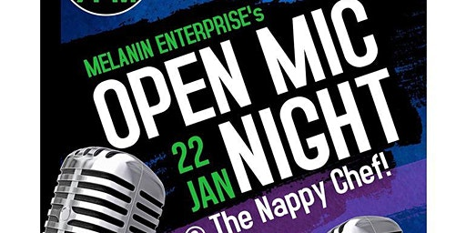 The Soul of Charlotte Open Mic Night @ The Nappy Chef!