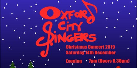 Oxford City Singers Christmas Concert 2019 Evening tickets