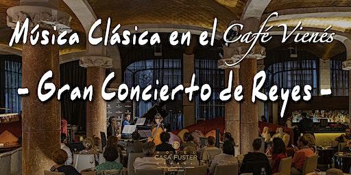 Clásica en el Café Vienés: GRAN CONCIERTO DE REYES