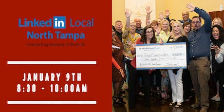 LinkedIn Local North Tampa - Networking 1-9-2020 tickets