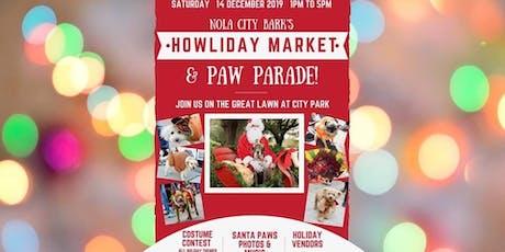 Howliday Market & Paw Parade tickets