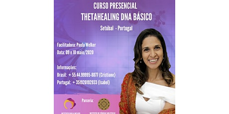 Thetahealing DNA BÁSICO bilhetes