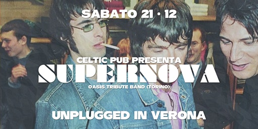 SUPERNOVA UNPLUGGED AT CELTIC PUB VERONA