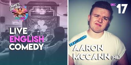 JOY Presents: Aaron McCann LIVE! tickets