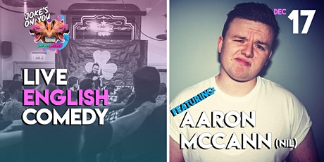 JOY Presents: Aaron McCann LIVE! tickets