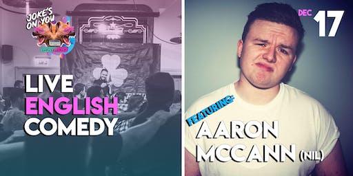 JOY Presents: Aaron McCann LIVE!
