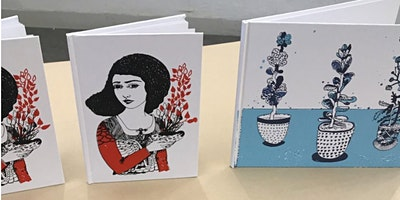Silk screen Printmaking with Boriana Kantcheva