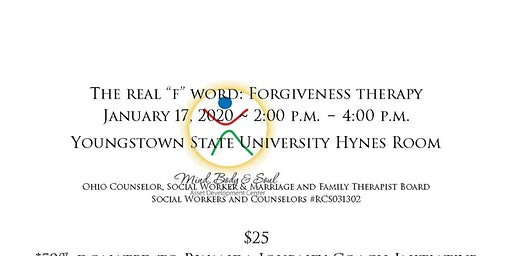 """The Real """"F"""" Word: Forgiveness Therapy"""