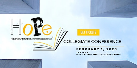 The HoPe Collegiate Conference tickets