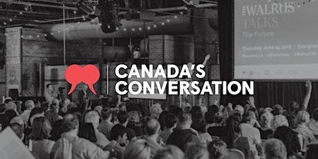The Walrus Talks Exploration Calgary 2020 billets