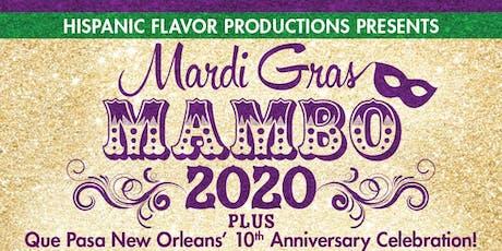 Mardi Gras Mambo 2020 tickets