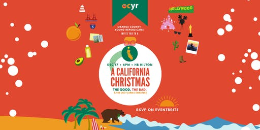 A California Christmas hosted by the Orange County Young Republicans