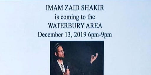 A NIGHT WITH IMAM ZAID SHAKIR- CAIR CT Litchfield County Winter Fundraiser