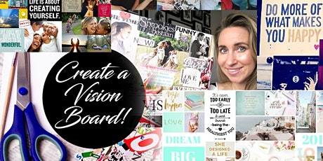 Sip Cocktails & Create A Dream Vision Board - Make Friends, Art And Have Fun! tickets