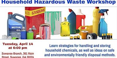 Household Hazardous Waste & Spring Cleaning Workshop