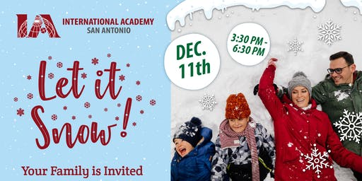 Let it Snow: Holiday Open House with Snow!