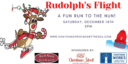 Rudolph's Flight: A Fun Run to the Nun