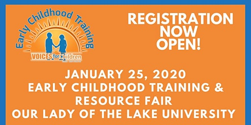 Early Childhood Training & Resource Fair