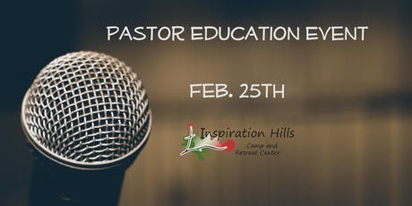 Pastor Education Event tickets