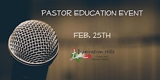 Pastor Education Event