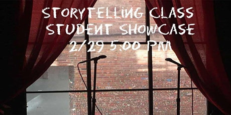 Storytelling Class Winter Student Showcase tickets