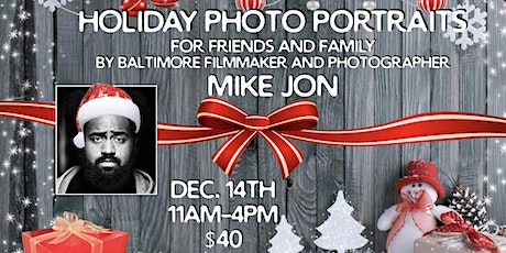 Holiday Photo Portraits for Friends and Family tickets