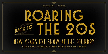 NYE - Roaring Back to the 20s with 2020 tickets