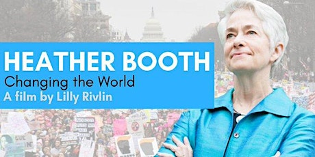 """HEATHER BOOTH """"CHANGING THE WORLD"""" Feb. 19, 2020 @CIA Copia Napa tickets"""