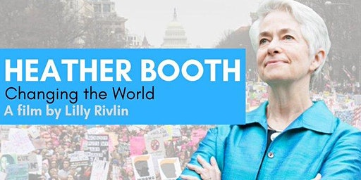 """HEATHER BOOTH """"CHANGING THE WORLD"""" Feb. 19, 2020 @CIA Copia Napa"""