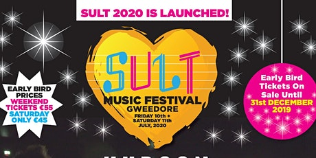 Early Bird Tickets - Sult Music Festival tickets