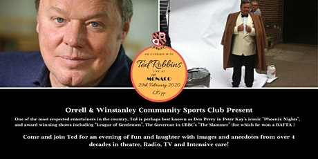 An Evening with Ted Robbins at The Monaco tickets