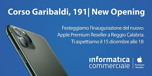 Apertura Apple Premium Reseller | Reggio Calabria