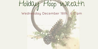 Hops & Hoops Wreath making class