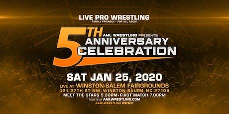 AML Wrestling Presents: 5th Anniversary Celebration tickets