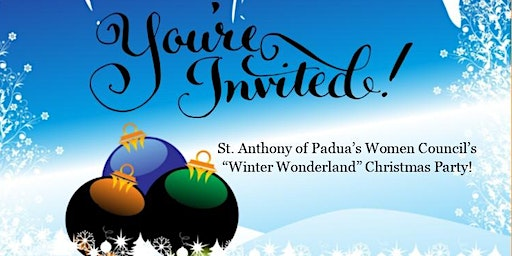 Winter Wonderland Christmas Party