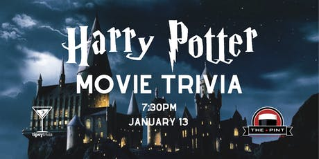 Harry Potter Movie Trivia - Jan 13, 7:30pm - The Pint YEG tickets
