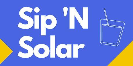 Sip N' Solar sponsored by Brooklyn SolarWorks tickets