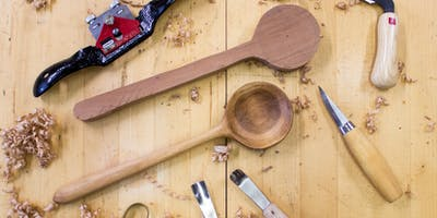 Carve a Wooden Serving Spoon