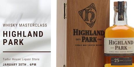 Highland Park Masterclass tickets