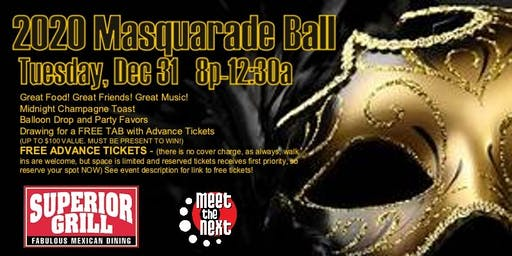 2020 Mascarade Ball with Meet the Next at Superior Grill