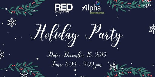 Alpha Grand Rapids Board Holiday Party