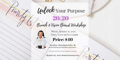 Unlock Your Purpose Vision Board Workshop tickets