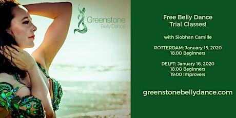 Gratis buikdansles voor beginners in Rotterdam / Free Beginner Belly Dance tickets