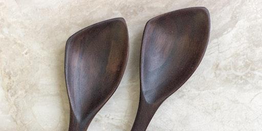 Carve a Wooden Sauté Spoon
