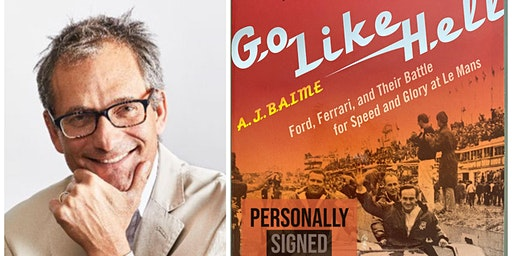 "Author A.J. Baime ""Go Like Hell"" Book Signing"