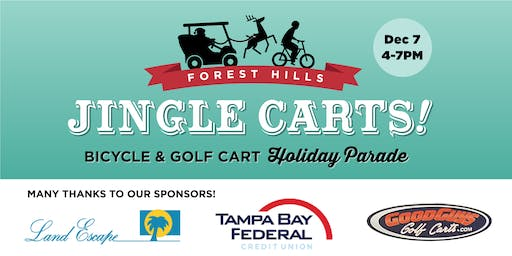 Jingle Carts: Forest Hills Bicycle & Golf Cart Holiday Parade