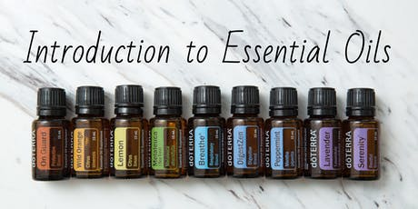 Introduction to Essential Oils Workshop tickets